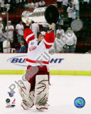 Chris Osgood with the Stanley Cup, Game 6 of the 2008 NHL Stanley Cup Finals; 30 Photo