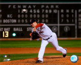 Jon Lester&#39;s 2008 No Hitter Action; Horizontal Photo