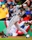 Placido Polanco 2008 Batting Action Photo