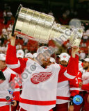 Johan Franzen with the Stanley Cup, Game 6 of the 2008 NHL Stanley Cup Finals; 31 Photo