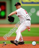 Josh Beckett 2008 Pitching Action Photo