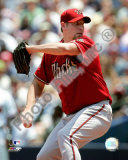Brandon Webb 2008 Pitching Action Photo