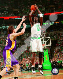 Kevin Garnett, Game 2 of the 2008 NBA Finals; Action 4 Photo