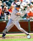 Nick Swisher 2008 Batting Action Photo