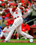Yadier Molina 2008 Action Photo