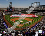 Coors Field 2008 Opening Day; Colorado Rockies Photo