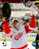 Mikael Samuelsson with the Stanley Cup, Game 6 of the 2008 NHL Stanley Cup Finals; 37 Photo