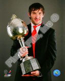 Alexander Ovechkin with the 2008 Hart Memorial Trophy Photo
