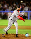 Tim Wakefield 2008 Pitching Action Photo