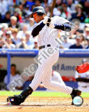 Derek Jeter 2008 Batting Action Photo