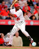 Torii Hunter 2008 Batting Action Photo