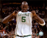 Kevin Garnett 2007-08 Playoffs Celebration Photo
