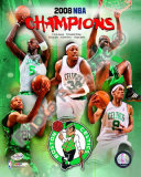 2007-08 Boston Celtics NBA Champions Photo