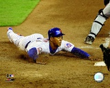 Moises Alou 2008 Sliding Action Photo