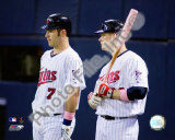 Joe Mauer & Justin Morneau Photo