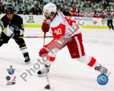 Henrik Zetterberg, Game 4 Action of the 2008 NHL Stanley Cup Finals Photo