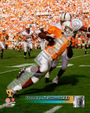 Donte Stallworth University of Tennessee Volunteers; 1999 Action Photo