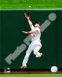 Rick Ankiel 2008 Fielding Action Photo