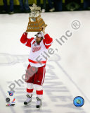 Henrik Zetterberg, 2007-08 Conn Smythe MVP Trophy Winner; 28 Photographie
