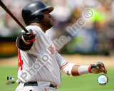 David Ortiz 2008 Batting Action Photo