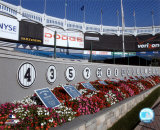 Monument Park at Yankee Stadium; 2004 Photo