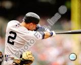 Derek Jeter 2008 Batting Action Photo