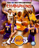 2007-08 LA Lakers Western Conference NBA Champions Photo