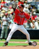 Tom Glavine 2008 Pitching Action Photo