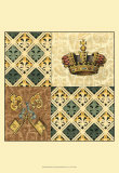 Regal Heraldry III Print