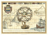 Nautical Map I Giclee Print