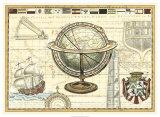 Nautical Map II Giclee Print