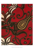 Scarlet Textile I Prints by Norman Wyatt Jr.