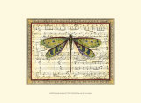 Dragonfly Harmony II Prints