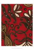 Scarlet Textile II Poster by Norman Wyatt Jr.