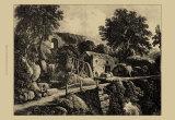 Wensley Mill Prints by George Cuitt