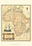 Africa Map Sztuka