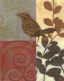 Paisley Sparrow Posters by Norman Wyatt Jr.