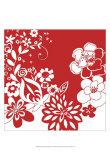 Vibrant Tokyo Garden VI Prints by Chariklia Zarris