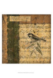 Bird Melody I Posters par Nancy Slocum