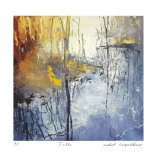 Still Water Pond Reflections Limited Edition by Forrest Moses