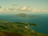 A View of Clare Island from the Top of Croagh Patrick Photographic Print
