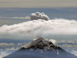 A Plume of Smoke and Steam Rises from the Popocatepetl Volcano Photographic Print
