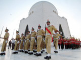 A Contingent of the Cadets of Pakistan Army Photographic Print by Shakil Adil