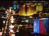 Holiday Page Las Vegas at Night, 1997 Photographic Print