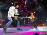 Rolling Stones, Ronnie Wood Andmick Jagger at Twickenham Tonight, August 2003 Photographic Print