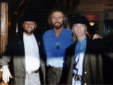 Bee Gees Pop Group Made up of Three Brothers Photographic Print