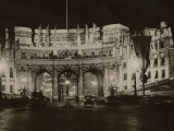 Admiralty Arch Decorated in Preparation for the Coronation of King George VI, May 1937 Photographic Print