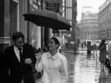 Elizabeth Taylor with Richard Burton, July 1963 Fotografisk trykk