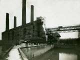 Lots Road Power Station in Chelsea, 1923 Photographic Print