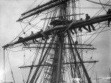The Sailing Ship the Terra Nova Fotografisk trykk
